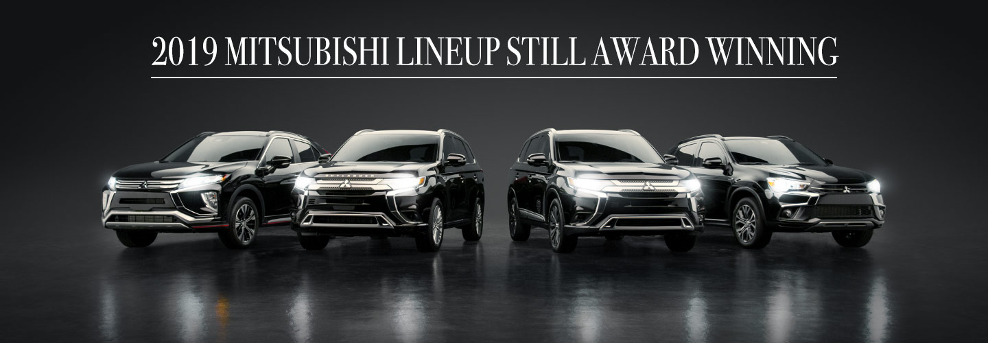 2019 Mitsubishi Lineup Still Award Winning