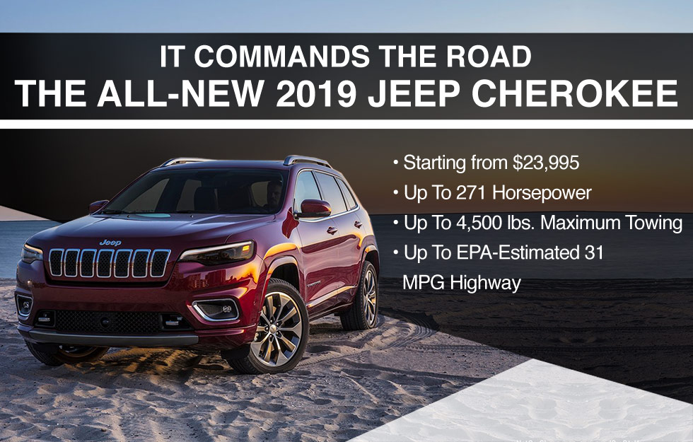 2019 JEEP CHEROKEE BOB MOORE CHRYSLER DODGE JEEP RAM OKLAHOMA CITY
