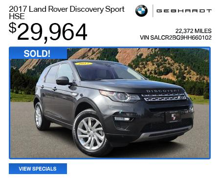 2017 Land Rover Discovery Sport HSE  - $29,964