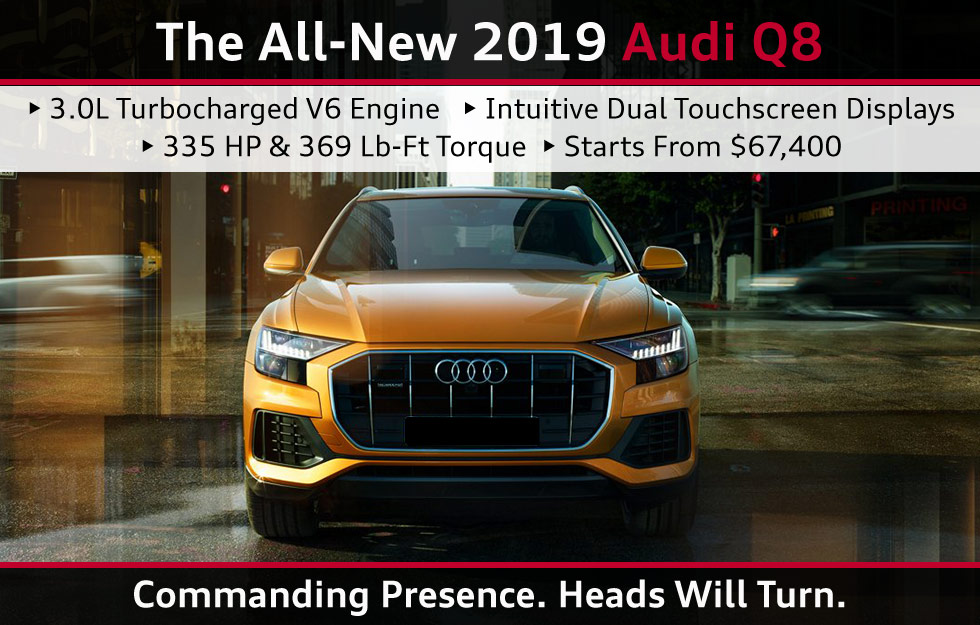 2019 AUDI Q8 OVERVIEW OKLAHOMA CITY EDMOND KINGFISHER PIEDMONT OKC METRO OK