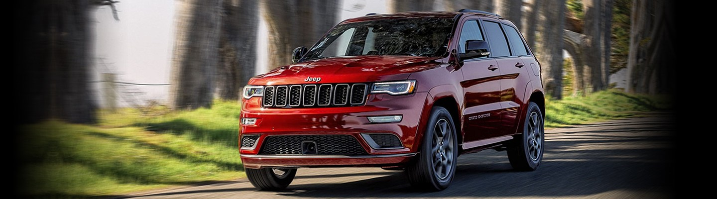 The 2020 Jeep Grand Cherokee is available at Marlow Jeep dealership in Front Royal.