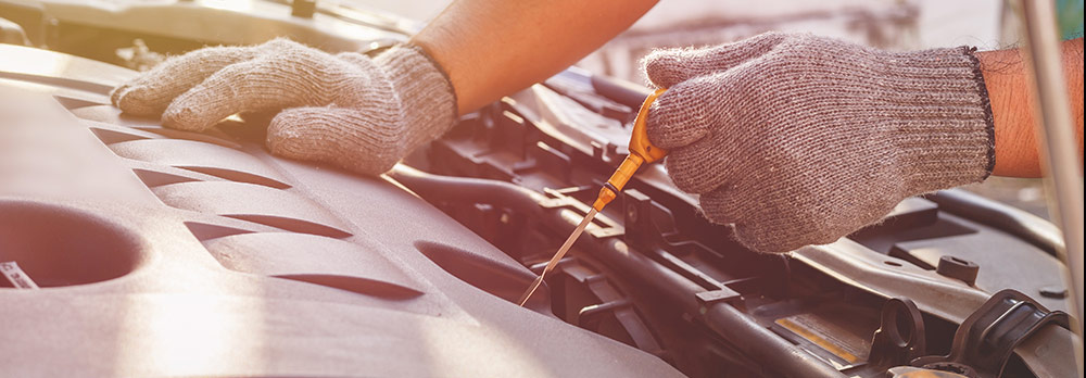 Auto repair and oil change service offered at Rountree Moore Toyota service department near Gainesville, FL