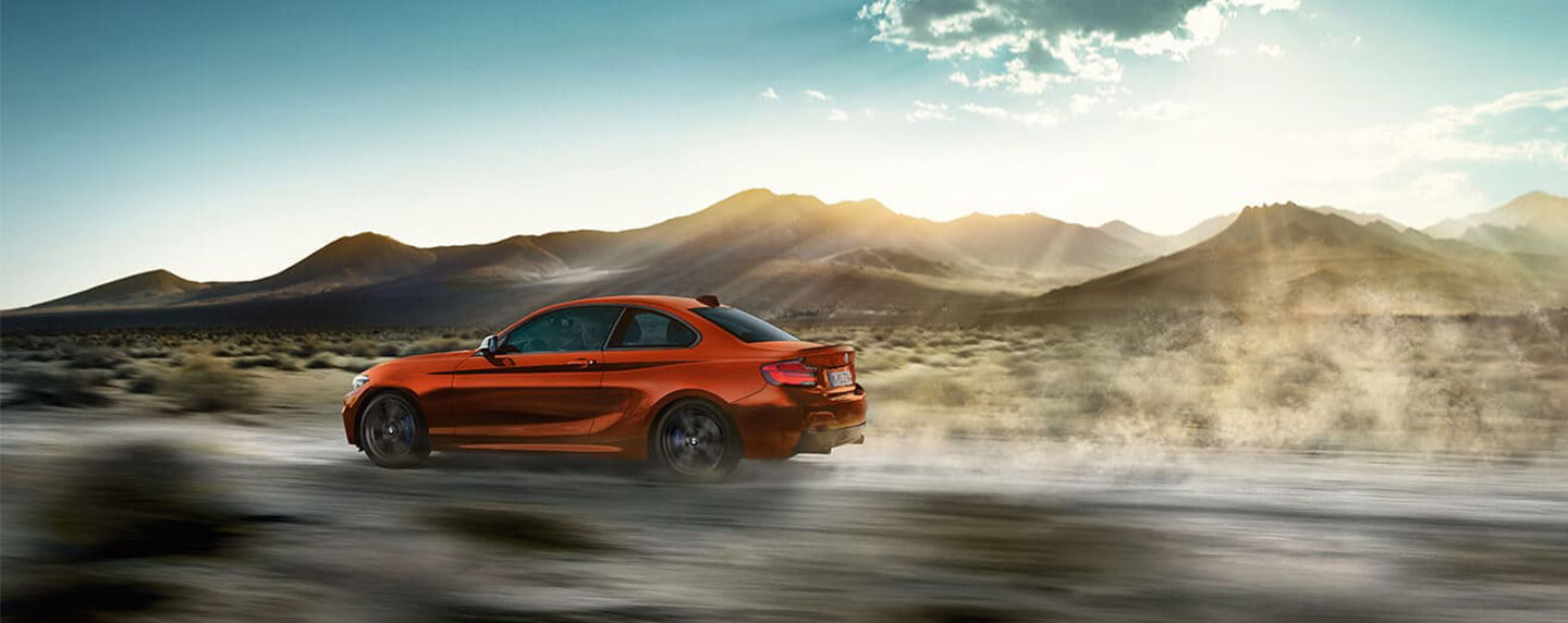 Left side of the BMW 2 series