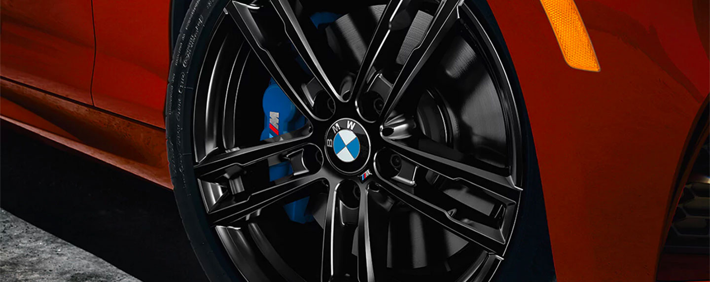 Wheel of the BMW 2 series