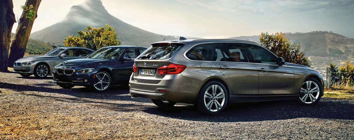 BMW 3 series line up