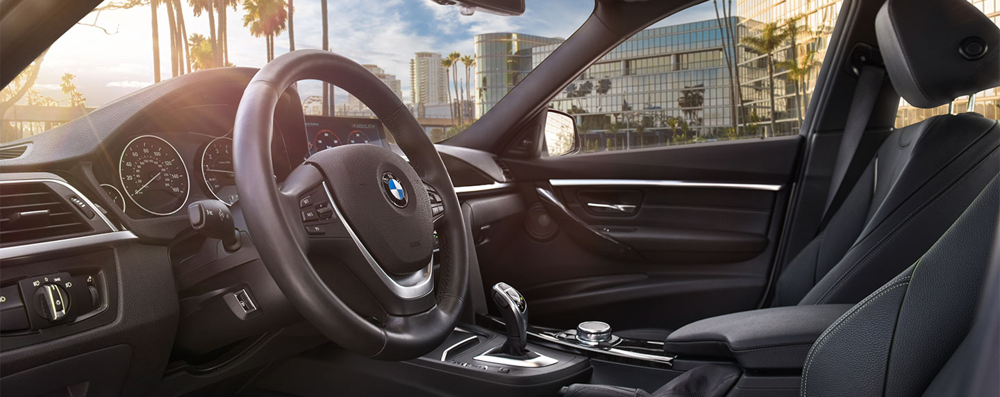 Steering wheel of the BMW 3 series
