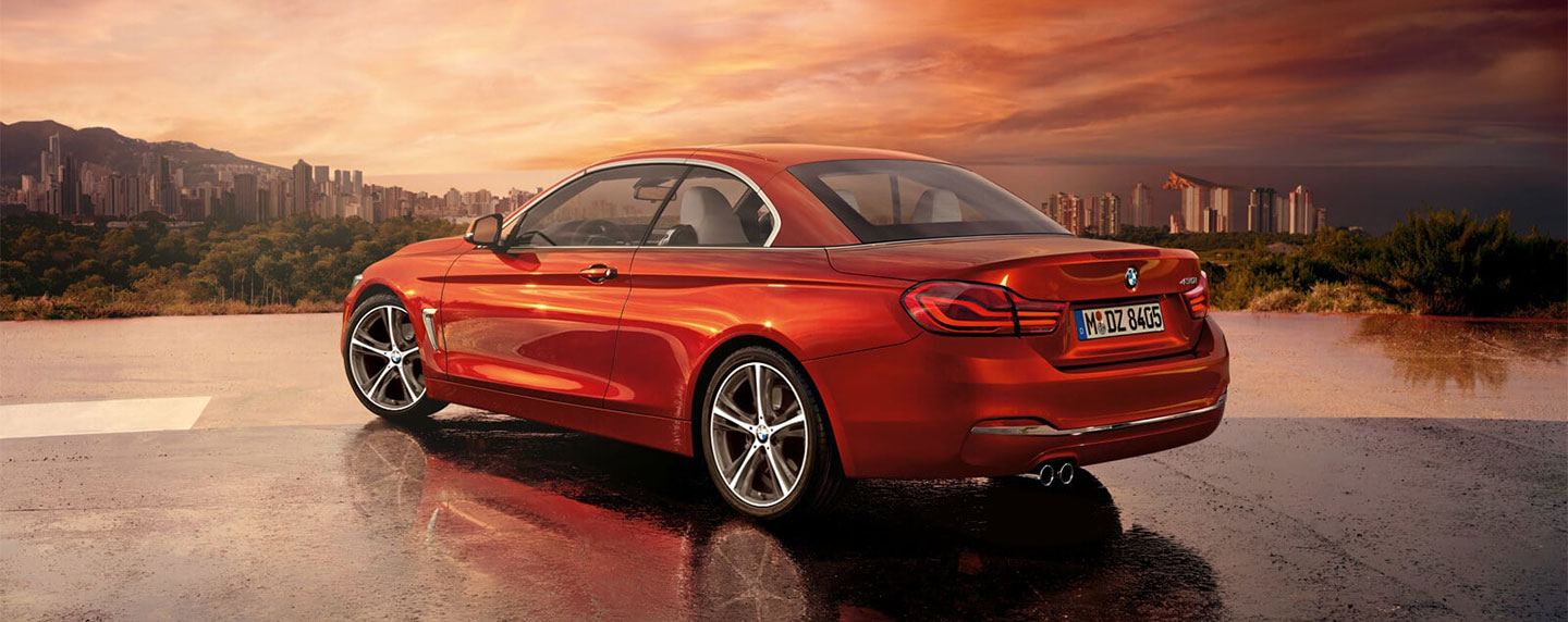 Back left of the BMW 4 series