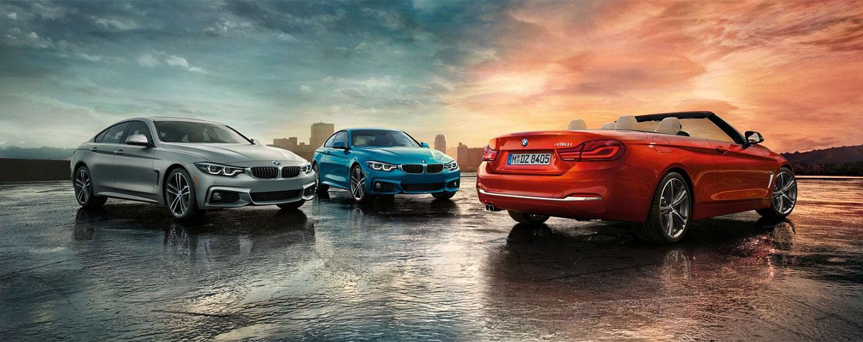 BMW 4 series lineup