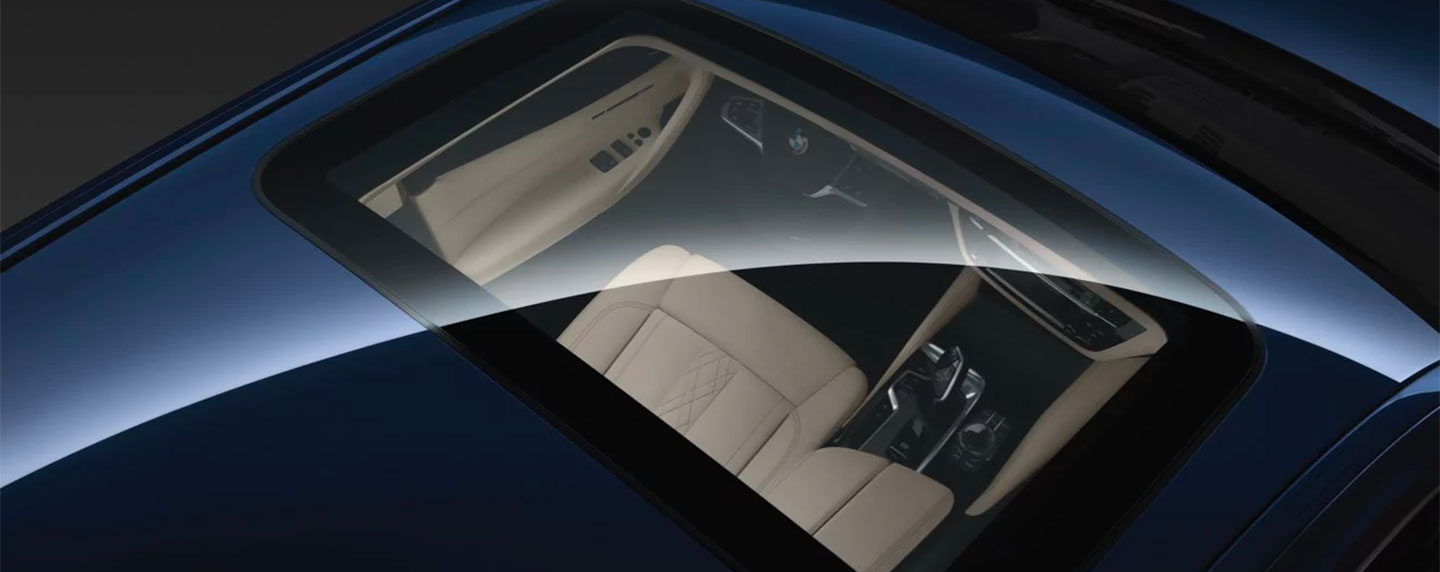 Sunroof on the BMW 5 series