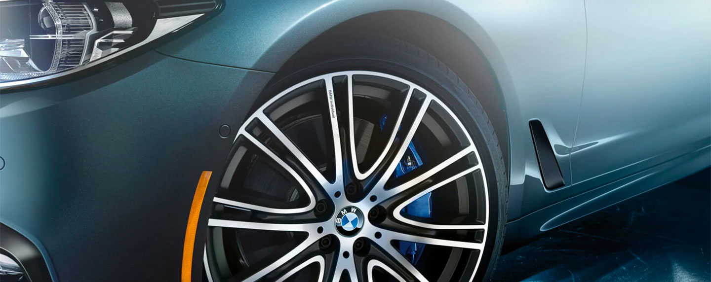 Wheel of the BMW 5 series