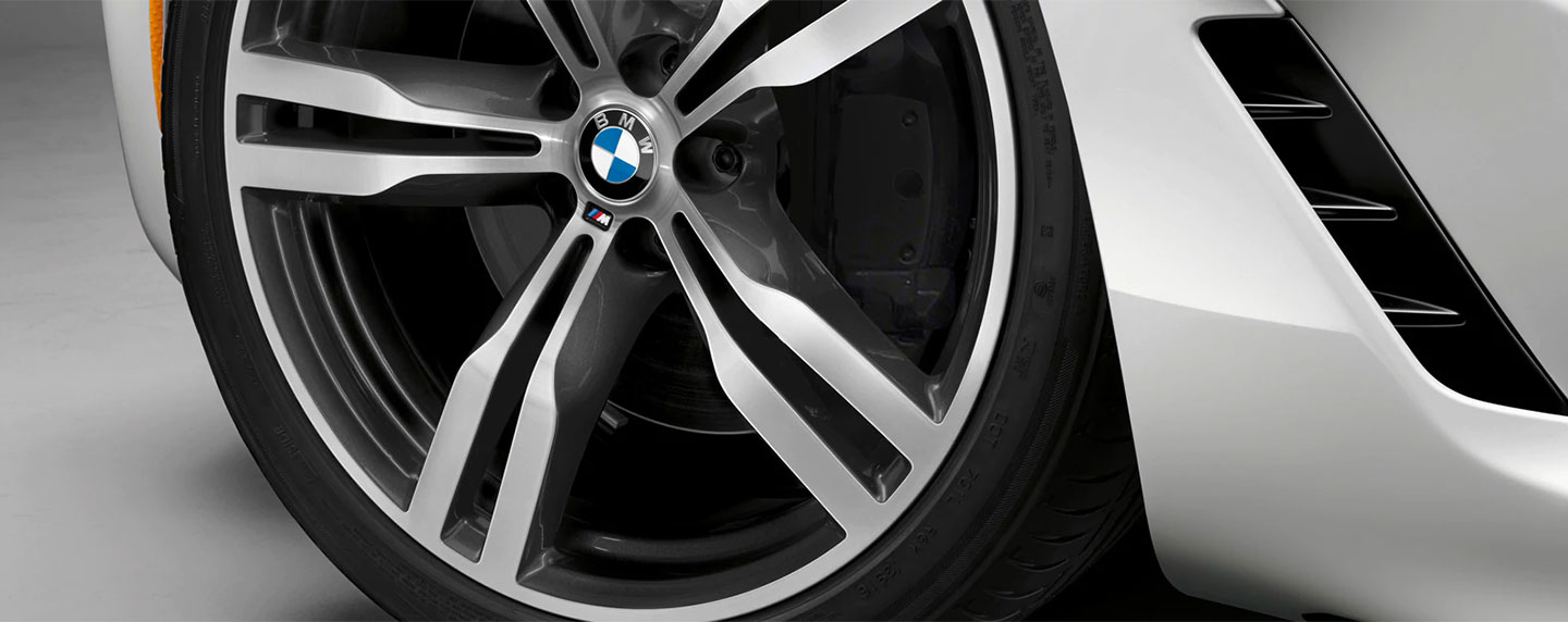 Wheels of the BMW 6 series