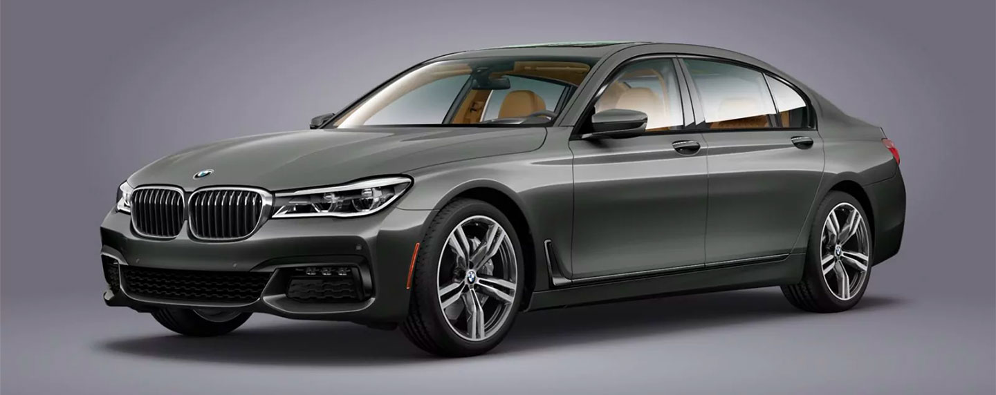 Left side of the BMW 7 series