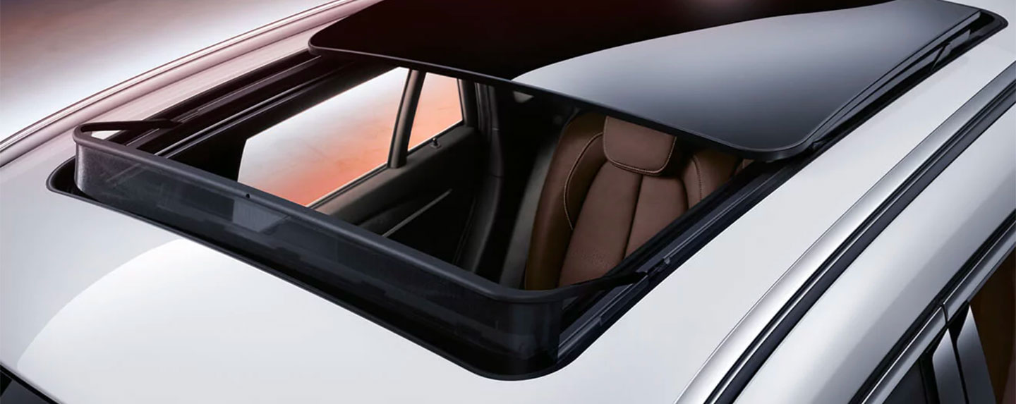 Sunroof of the BMW X1