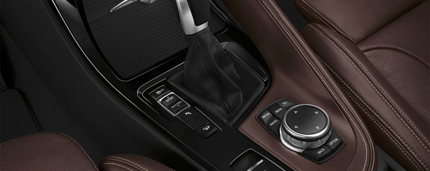 Driver controls of the BMW X1
