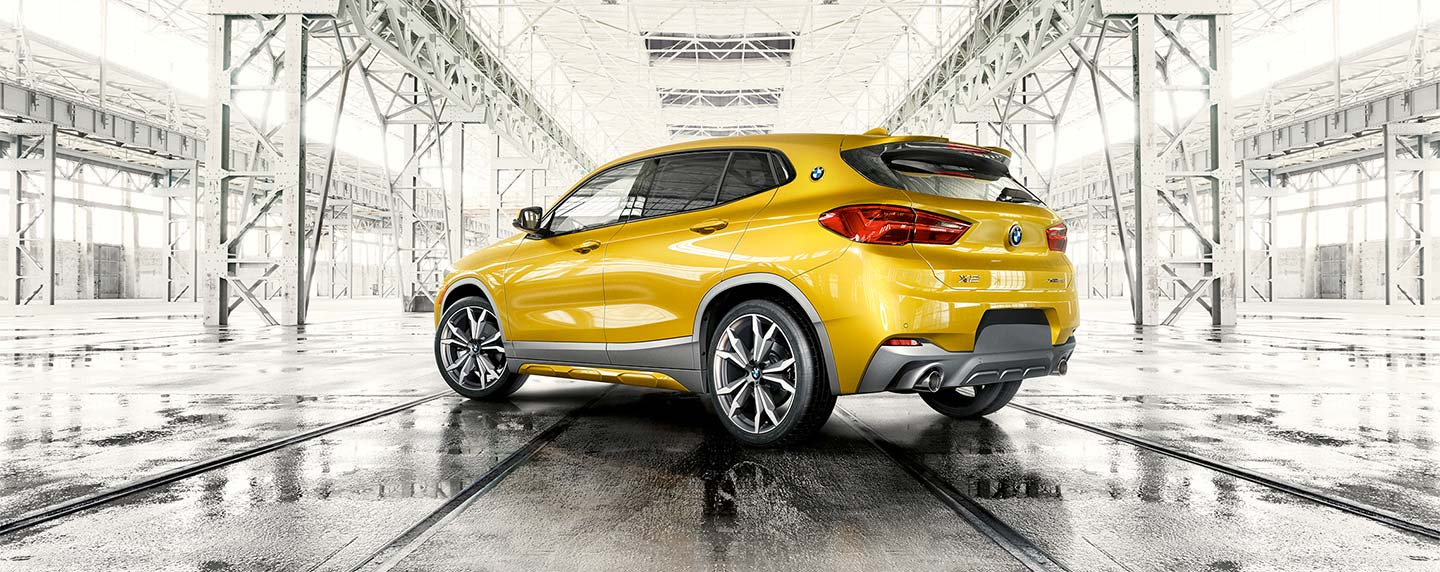 Back-left of BMW X2 at South Motors BMW in Miami