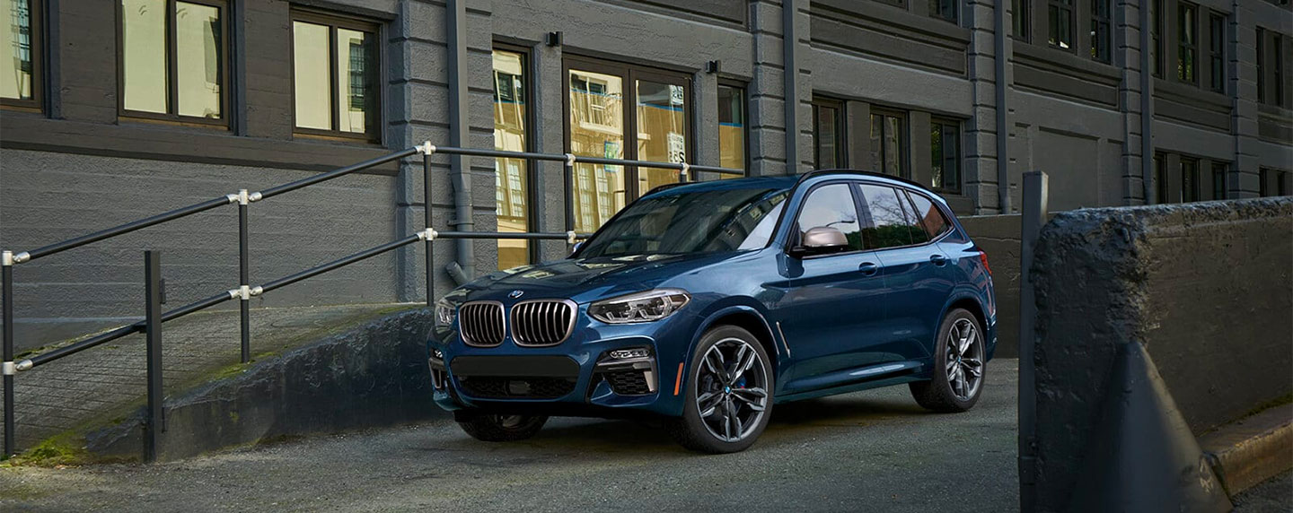 Left side of the BMW X3