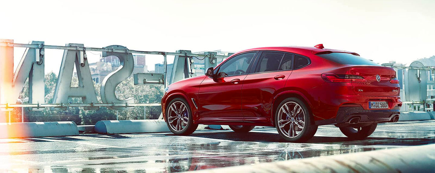 Back left of the BMW X4