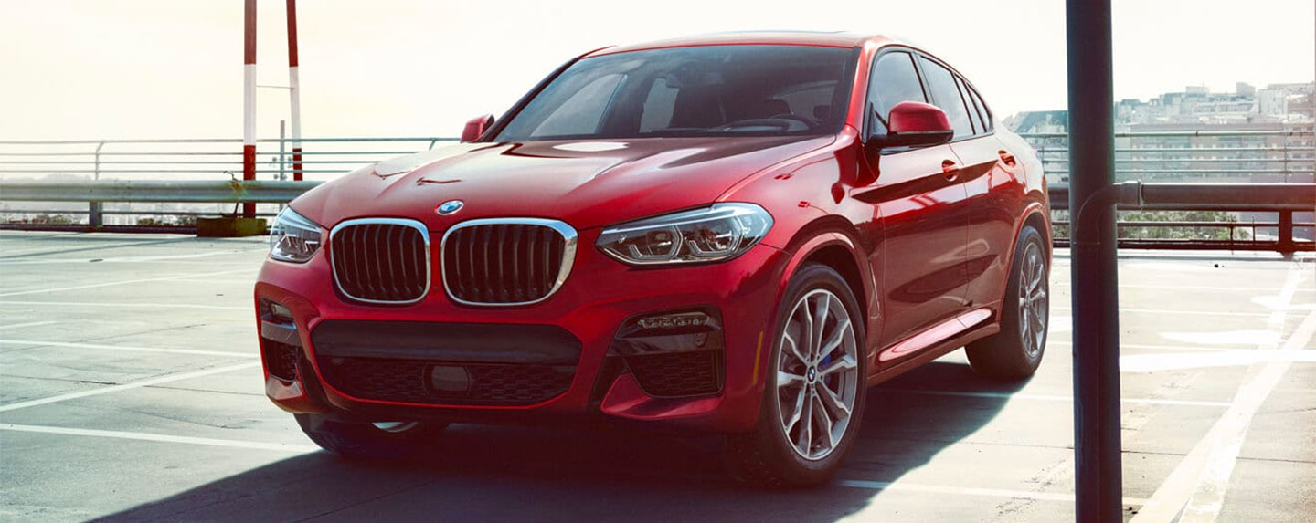 Front of the BMW X4