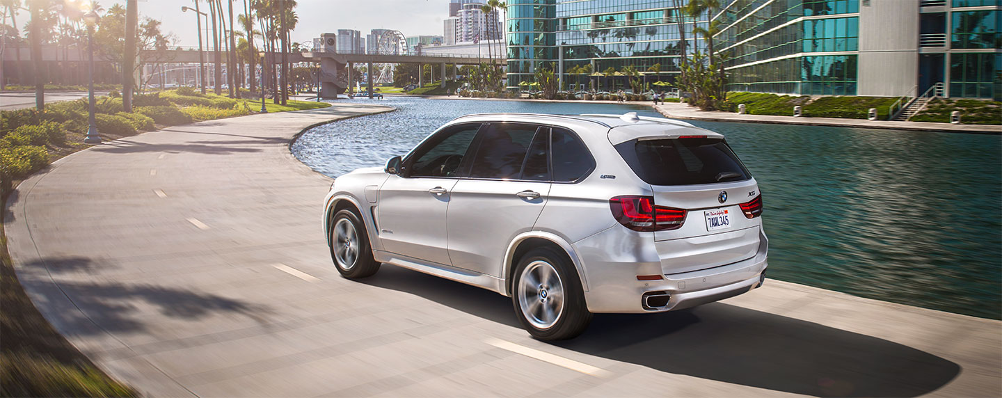 Back left side of the BMW X5