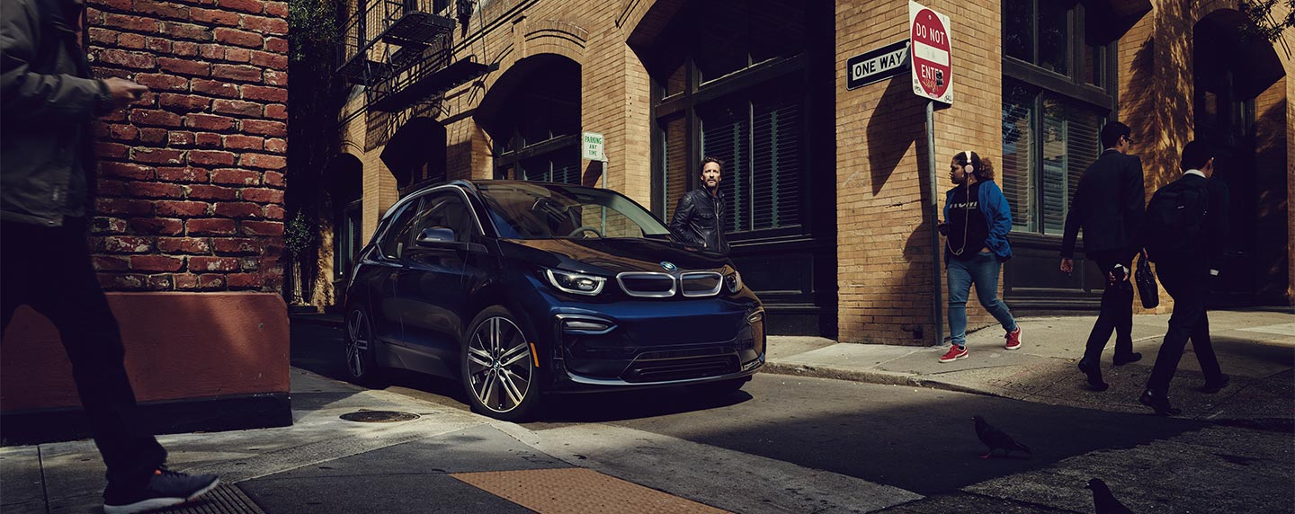 Front of the BMW i3