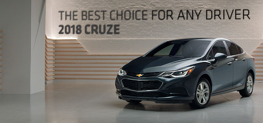 The 2018 Chevrolet Cruze is available at McClinton Chevrolet in Parkersburg, WV