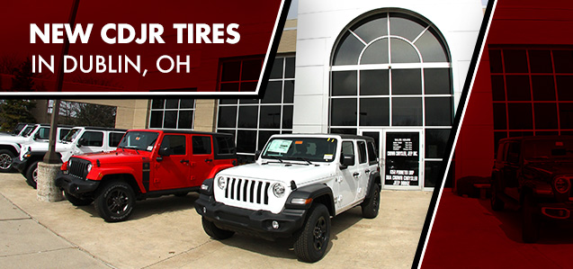 Crown Chrysler Dodge Jeep Ram tire service in Dublin, OH