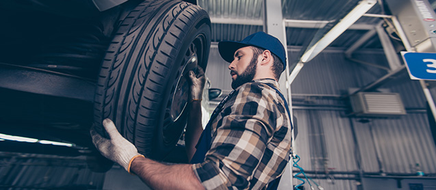 Tire Service at Crown Chrysler Dodge Jeep Ram of Dublin near Columbus and Delaware, OH