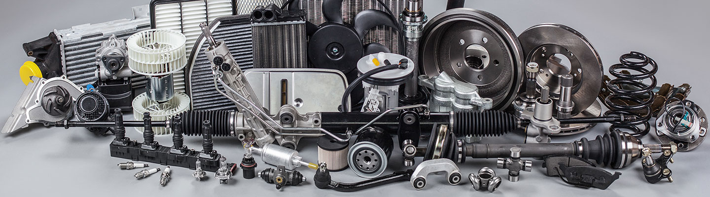 OEM auto parts available at the JP Motors parts center