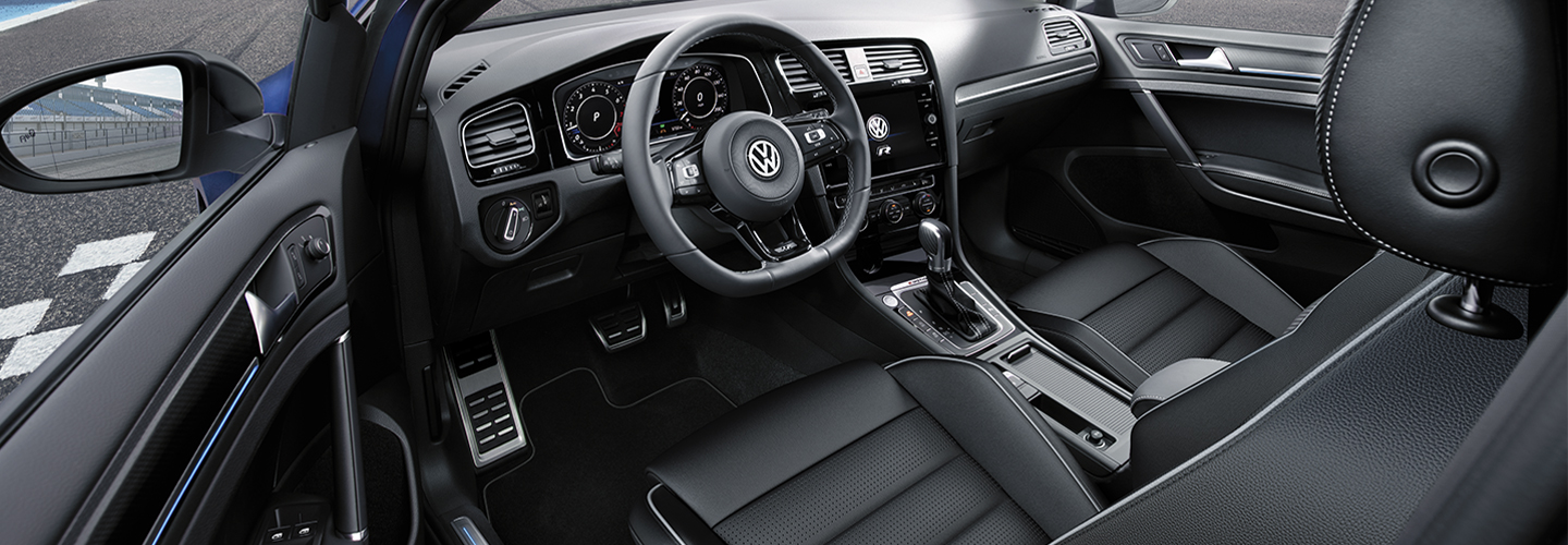 Interior image of the new VW Golf at Spitzer Volkswagen