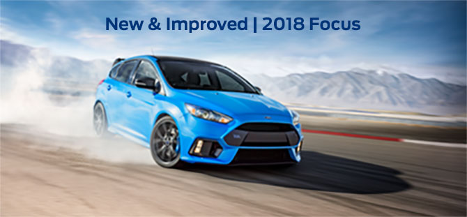 Exterior of the 2018 Ford Focus at Ford of Port Richey near Trinity, FL