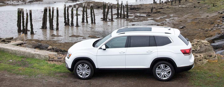 2019 Volkswagen Atlas parked