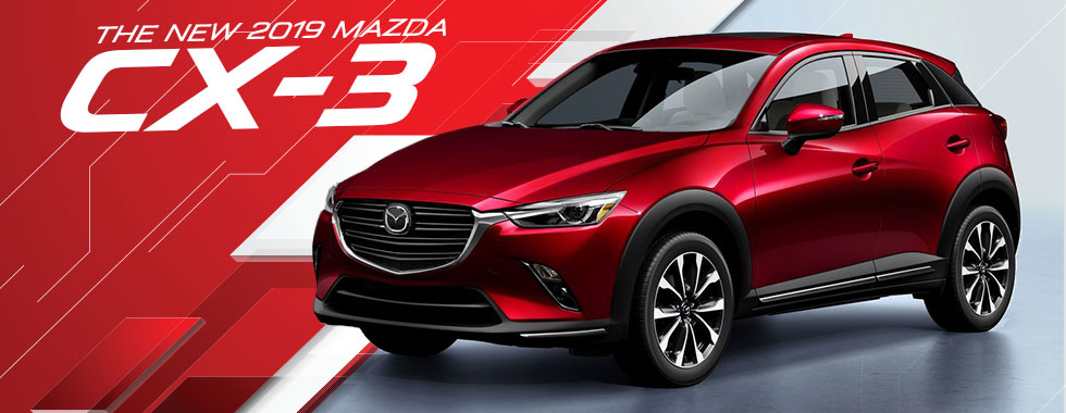 The 2019 Mazda CX-3 is available at Naples Mazda in Naples, FL