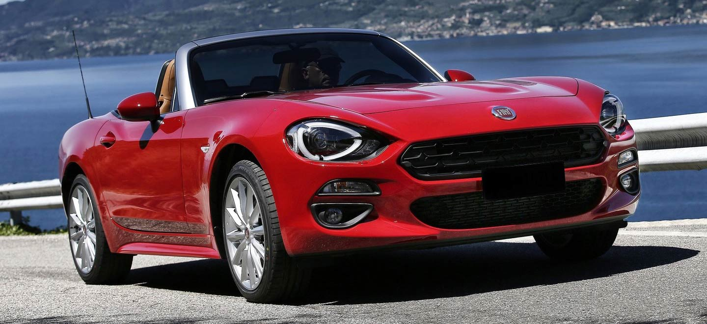The 2019 FIAT 124 Spider is available at our FIAT dealership near Columbus, OH