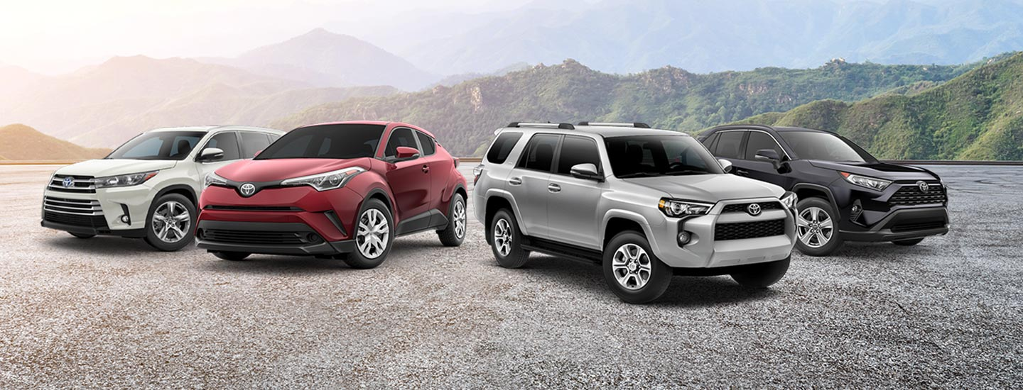 Learn about the Toyota SUV lineup available at our Toyota dealership in Atlanta, GA.