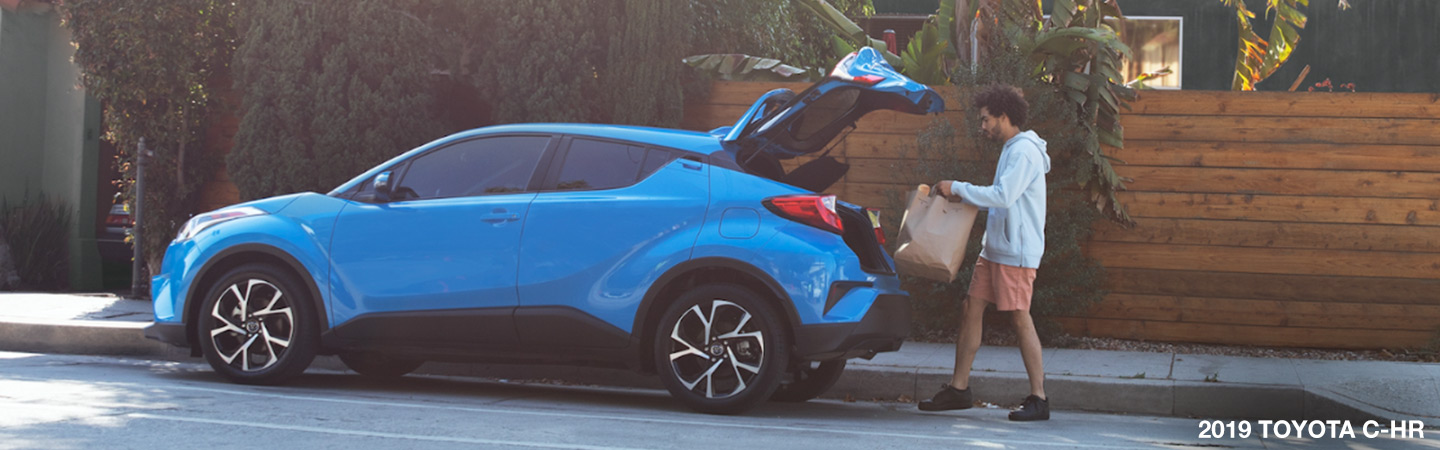 Exterior image of the 2019 Toyota C-HR