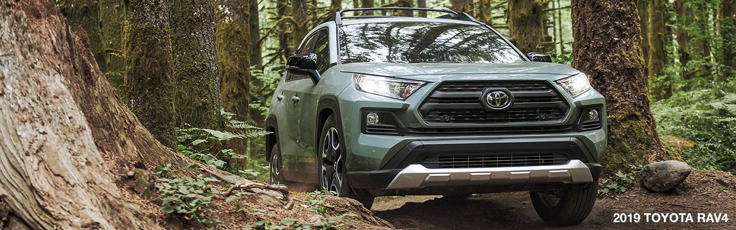 Exterior image of the 2019 Toyota RAV4