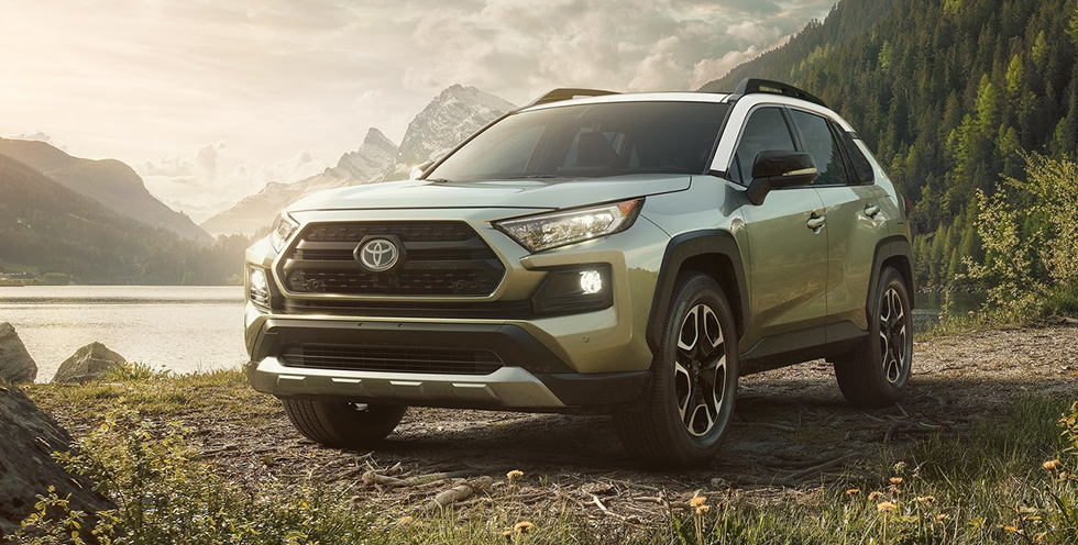 The 2019 Toyota RAV4 is available at Toyota of Rock Hill near Charlotte, NC