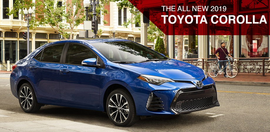 The 2019 Toyota Corolla is available at World Toyota in Atlanta, GA