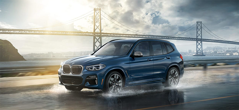 The 2019 BMW X3 is available at our BMW dealership