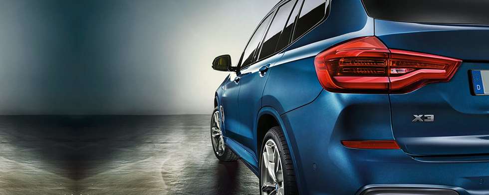 2019 BMW X3 Side View