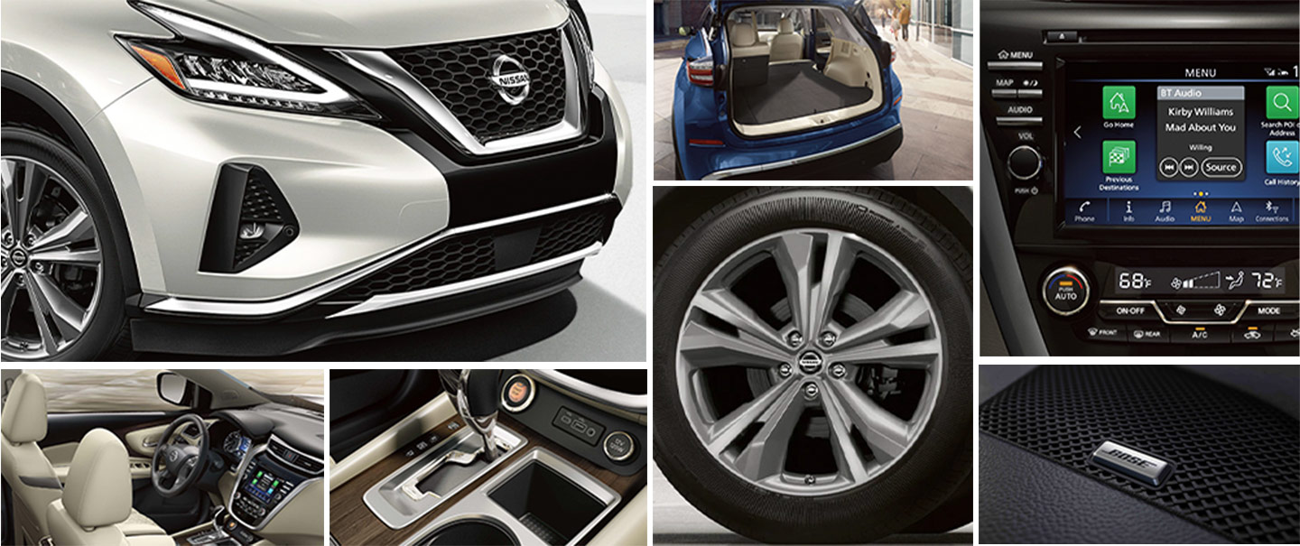 Murano SR- REV Up The Style Inside and Out