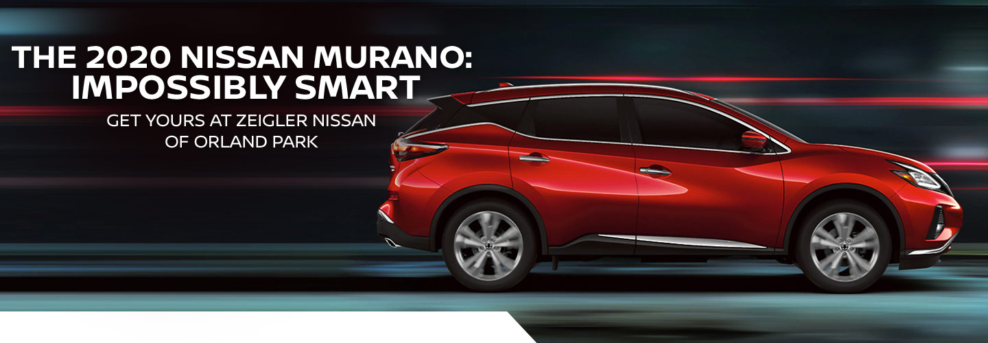 The 2020 Nissan Murano: Impossibly Smart | Get yours at Zeigler Nissan of Orland Park