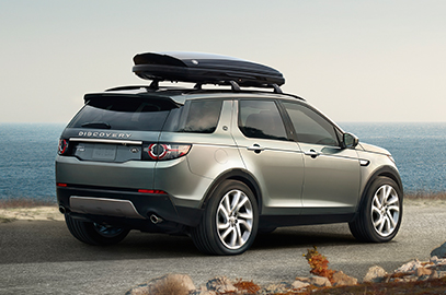 Explore Carrying & Towing - Exterior of Land Rover with Roof Rack
