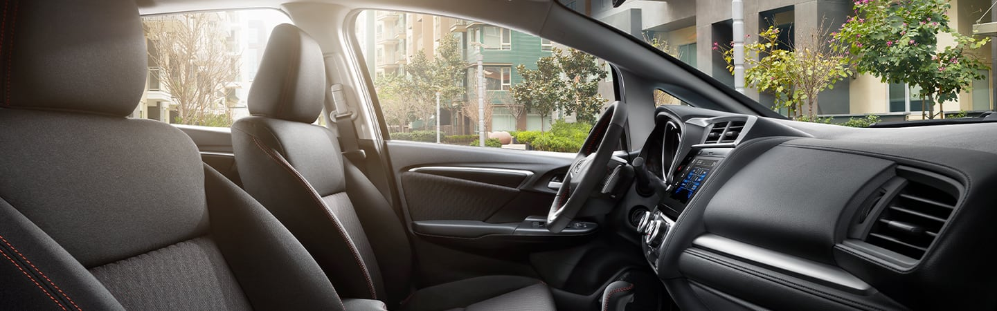 Interior image of the 2020 Fit