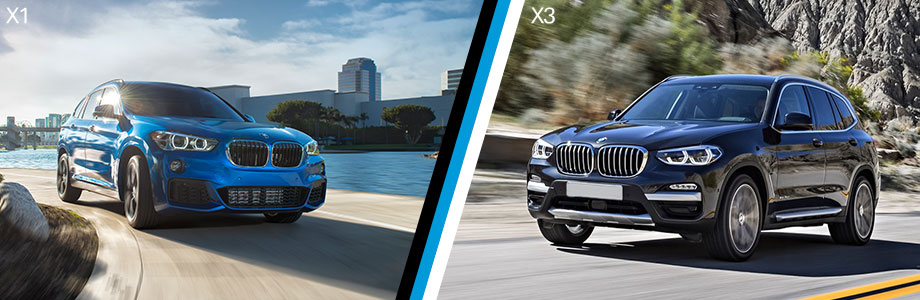 The 2018 BMW X1 and BMW X3 are available at BMW of Columbia in Columbia, SC