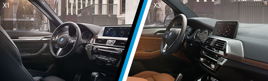 Safety features and interior of the 2018 BMW X1 and BMW X3 - available at BMW of Columbia near Lexington and Irmo, SC