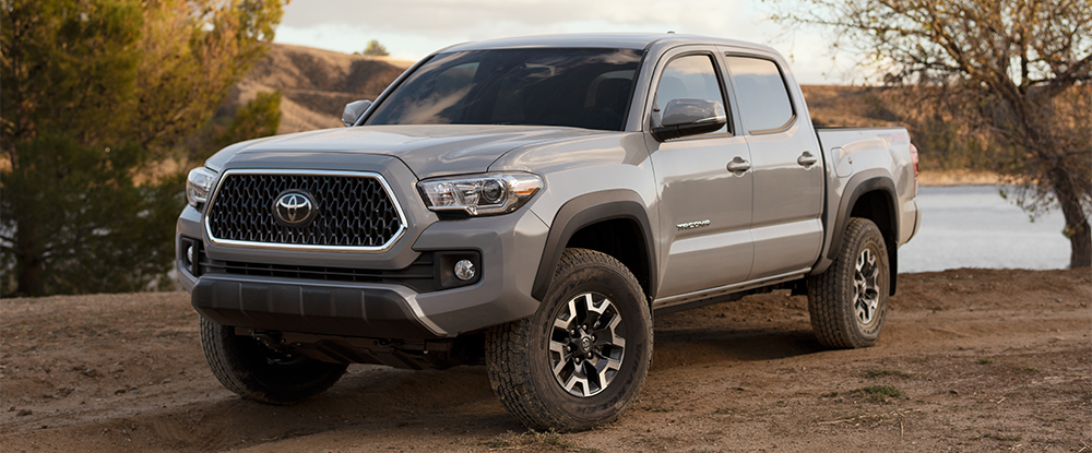 The 2018 Toyota Tacoma is available at Toyota of Rock Hill near Charlotte, NC