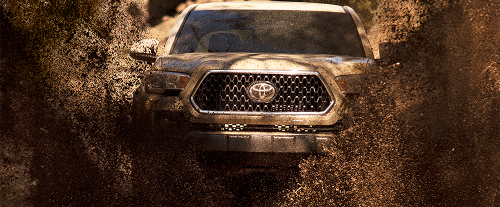 Safety features and exterior of the 2018 Toyota Tacoma at Toyota of Rock Hill near Charlotte,NC