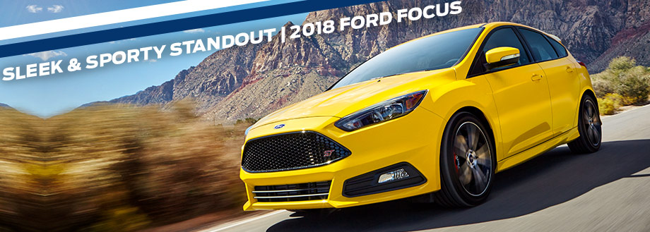 Exterior of the 2018 Ford Focus at Ford of Port Richey near Land O' Lakes, FL