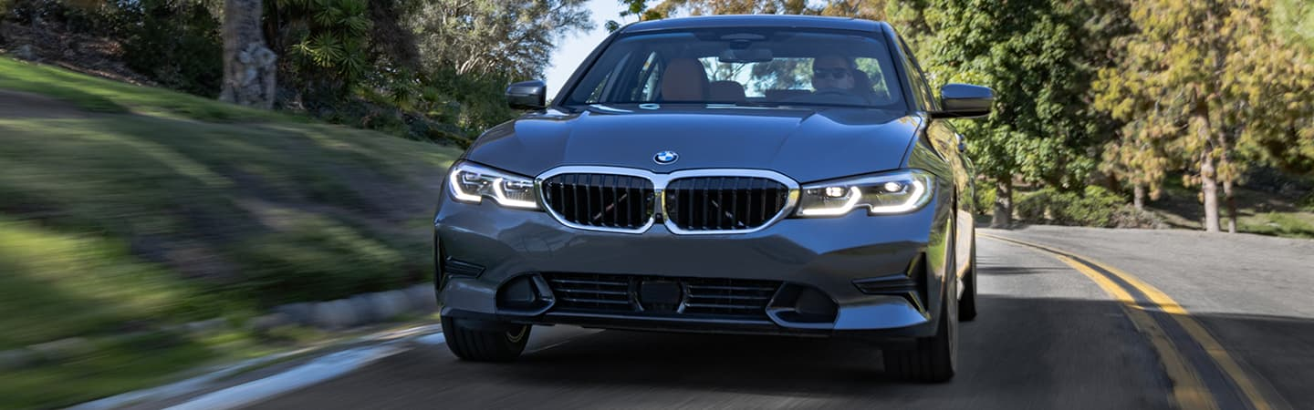Exterior of the 2019 BMW 3 Series in Columbia, SC